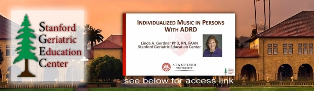 Individualized Music in Persons with ADRD by Linda Gerdner, PhD