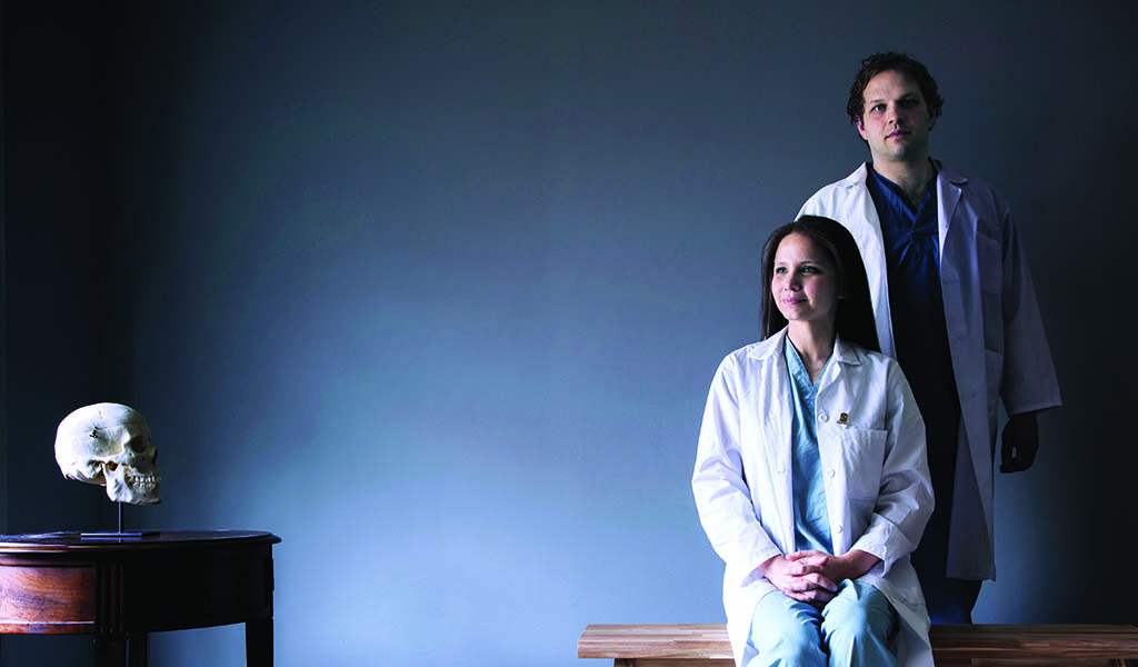 Trading scrubs for lab coats to find brain cancer answers